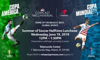 Verano de Futbol | Soccer Luncheon 19/6