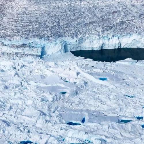 En el fondo de un glaciar en Groenlandia, los científicos encontraron señales preocupantes