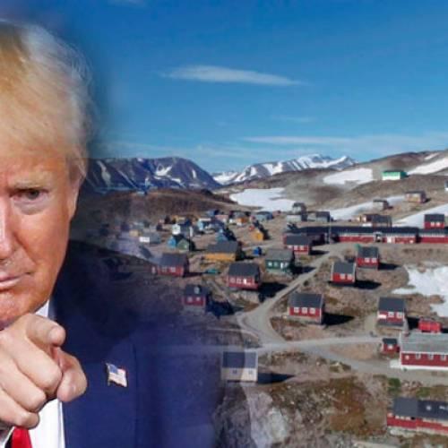 Donald Trump bromea en Twitter sobre comprar Groenlandia