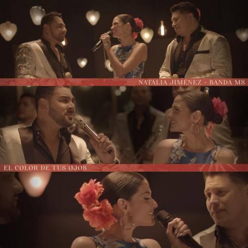 Natalia Jiménez es la primera artista en grabar a dúo con la reconocida Banda MS