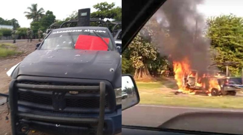 14 policías estatales muertos en una emboscada narco en México