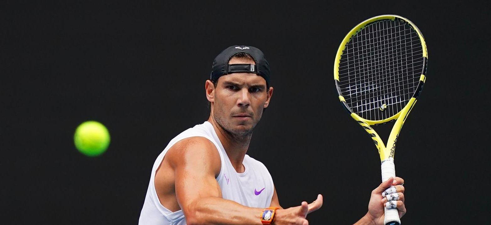 Nadal debutará en Melbourne ante el boliviano Dellien y tendrá un cuadro duro hasta semifinales