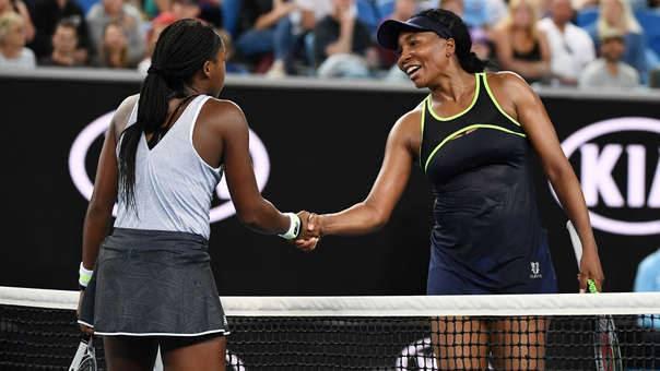 ¡Lo volvió hacer! Cori Gauff, de 15 años, eliminó a Venus Williams del Abierto de Australia