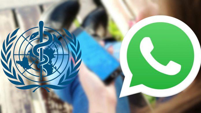 OMS abrió servicio en WhatsApp para contestar dudas sobre el coronavirus