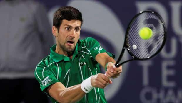Djokovic reconquista Dubái tras ganar a Tsitsipas