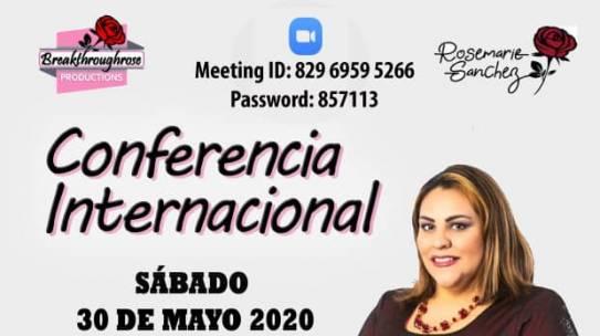 Conferencia Internacional «Quebrando Barreras»