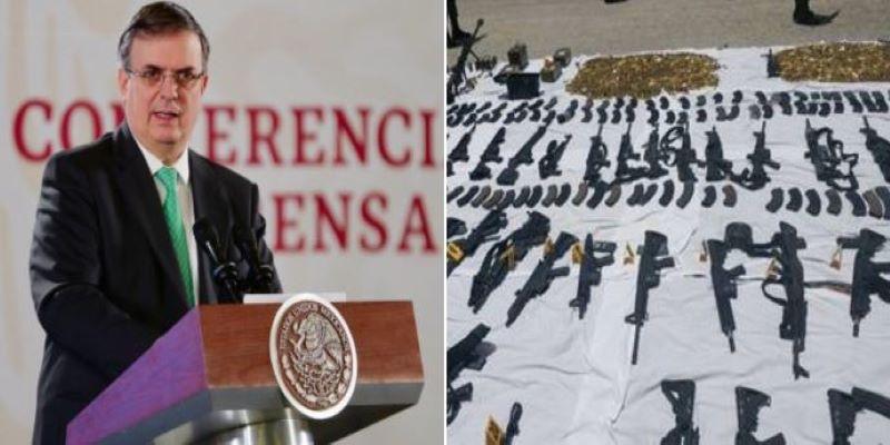 México pide al Gobierno de EE.UU. congelar tráfico de armas