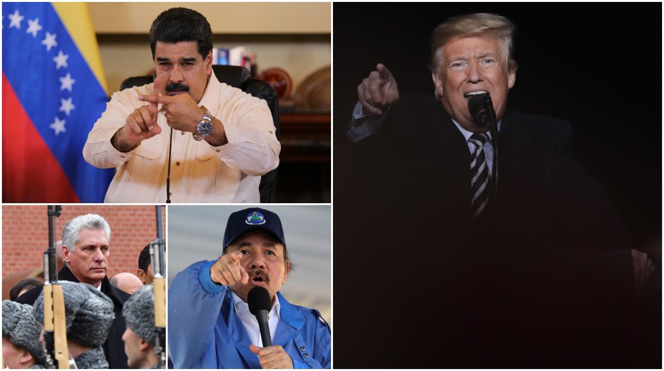 Trump sin contemplaciones contra el régimen: Venezuela y Cuba