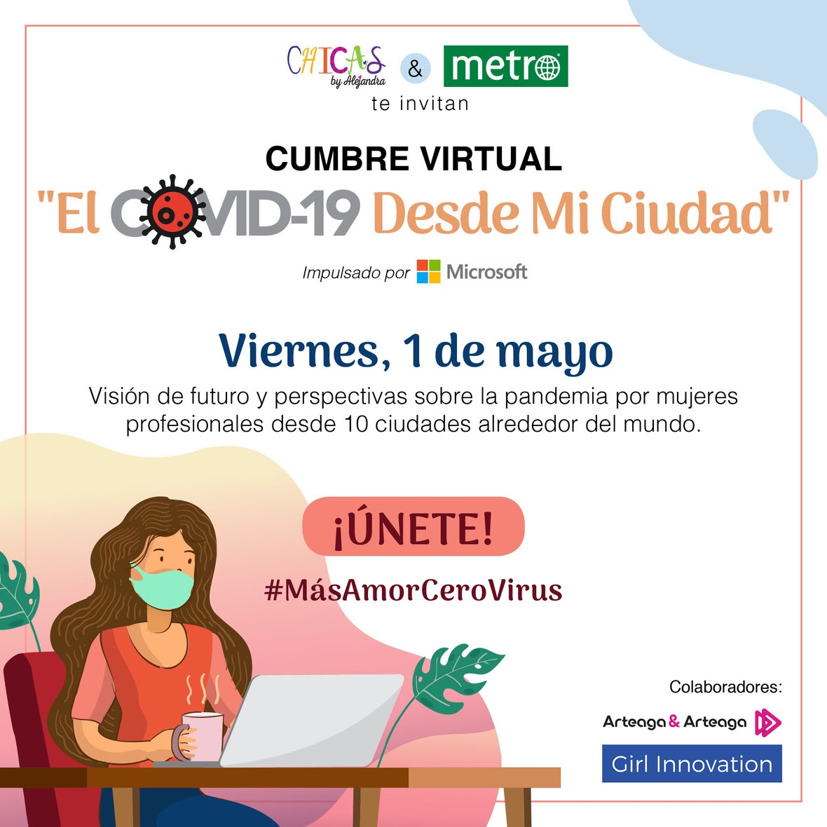 Este viernes Cumbre Virtual «El Covid-19 Desde Mi Ciudad»