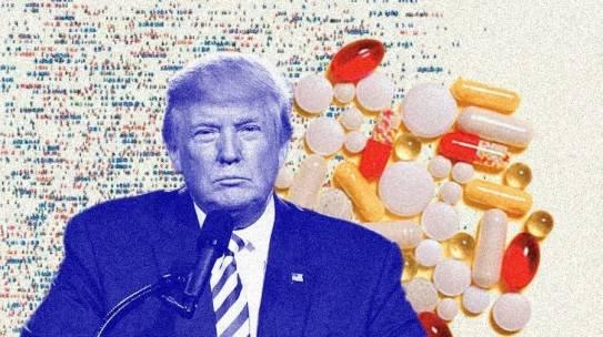 Trump dice que toma hidroxicloroquina a diario