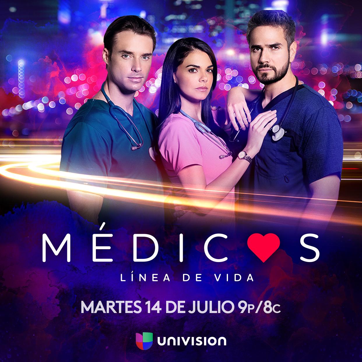 """""""Médicos, Línea de Vida"""":  es la más reciente serie dramática de Univision"""