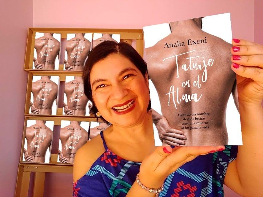 Analía Exeni con su novela Tatuaje en el Alma rumbo al Premio Literario Amazon 2020