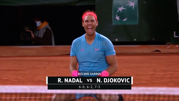 Rafa Nadal destroza a Djokovic y lo gana todo