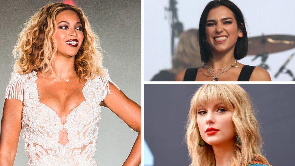Nominaciones a los Grammy: Beyoncé, Dua Lipa y Taylor Swift lideran las listas para la edición 63 de los premios